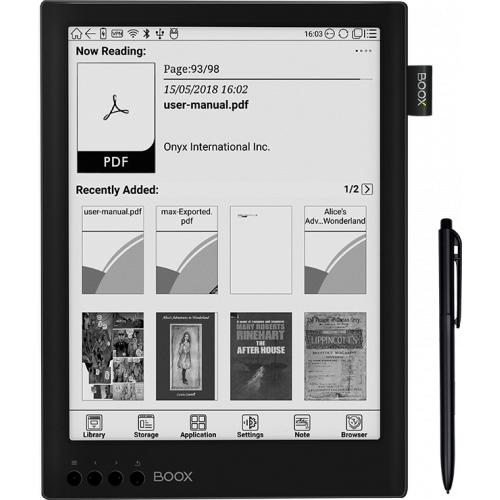 [超級優惠] BOOX MAX2 13.3'' 深度閱讀 , 極高效率 學習/辦公 手+筆觸 電子墨水閱讀器 香港行貨 一年保養