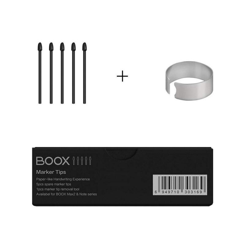 BOOX Marker Tips Nibs Kit for Note Plus Wacom Stylus Pen, 5pcs