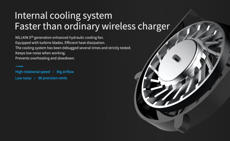 Nillkin 颶能15W快速無線充電器(鋼化玻璃面)