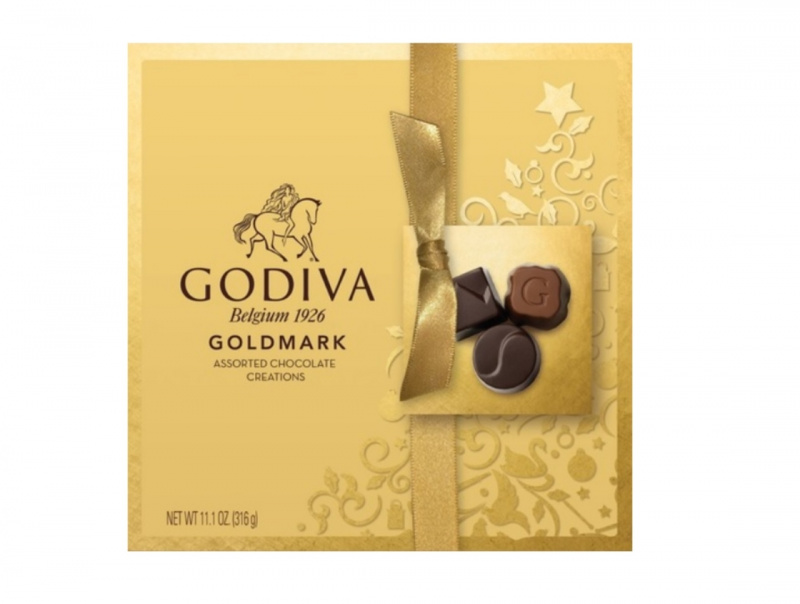 Godiva Belgium 1926 GoldMark 金裝禮盒朱古力 316g