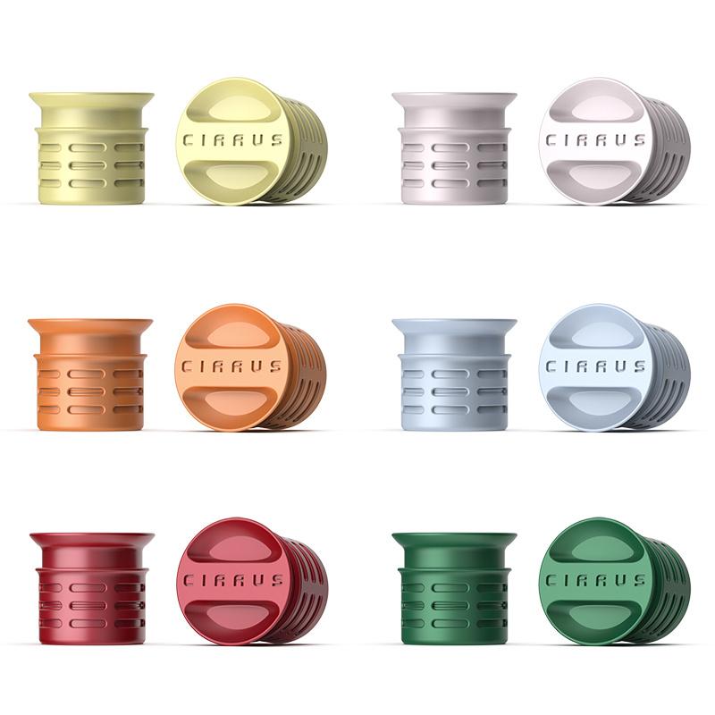 Cirrus 75%省水芳香淋浴花灑 連香薰補充裝 [2色] [6個1套]
