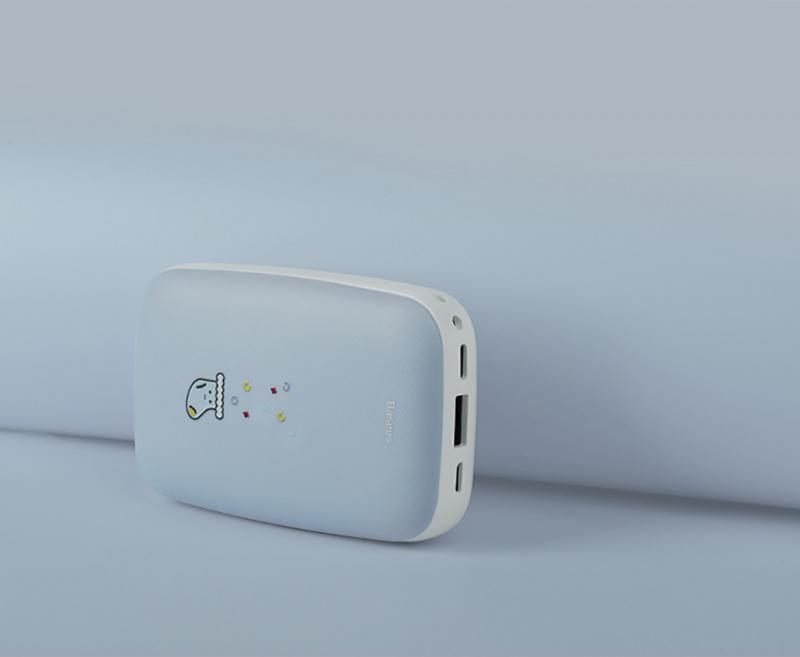 Baseus MiniQ 10000mAh 暖手蛋外置移動電源 [2色]