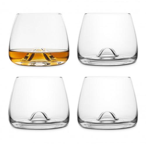 Final Touch 威士忌無鉛水晶玻璃品酒杯 300ml(4隻裝)
