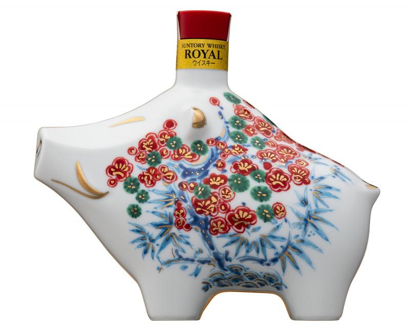 Suntory Royal Whisky 2019豬年限量版 禮品盒裝