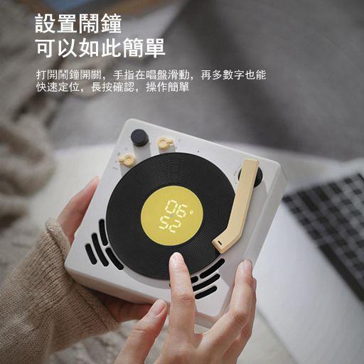 BeeFo Little Player小唱機LED數字鬧鐘智能音箱