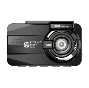 HP - F870G Full HD 1080P 內置GPS行車紀錄器前後鏡車載攝像機