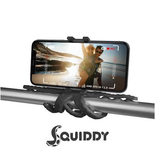 Celly Squiddy 八爪魚吸盤手機/攝影鏡頭支架 [5色]
