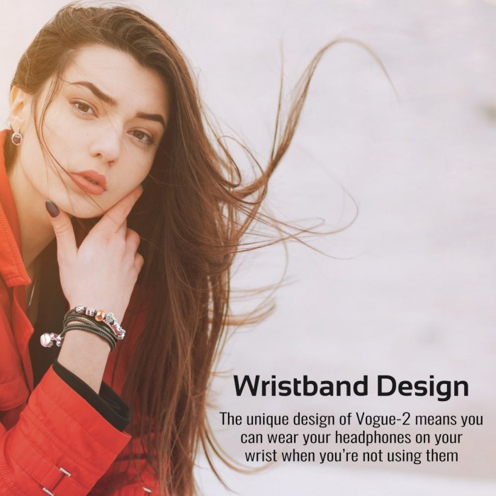 Promate Vogue 2/3 Bracelet Style with Pandora Beads Stereo Earphones | Pandora 手鏈耳機 防纏繞 女生至愛 可接聽電話 有保養 聖誕禮物氹女仔