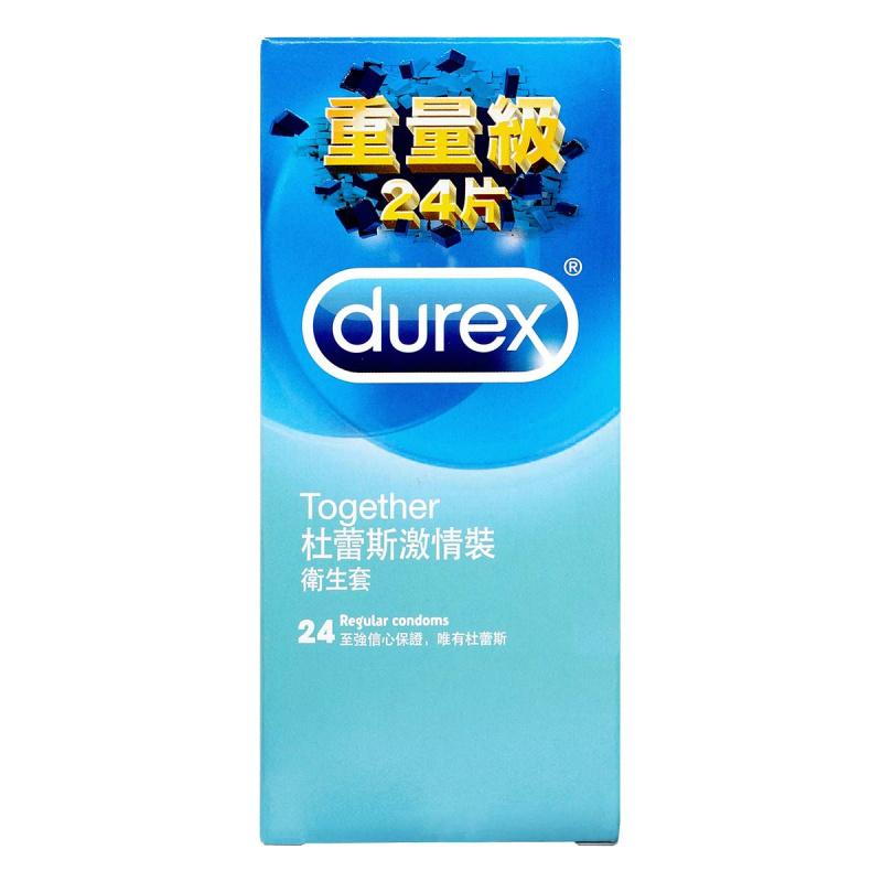 Durex 杜蕾斯激情裝乳膠安全套(24片裝)