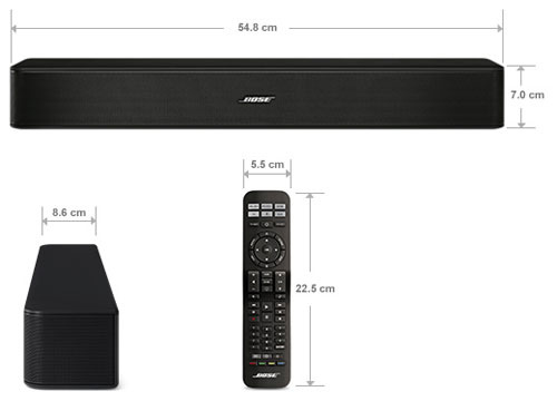 Bose Solo 5 TV Sound System 電視音響系統