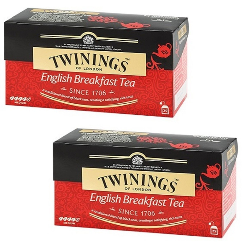 TWININGS 英倫早餐紅茶 (25片裝) 2盒