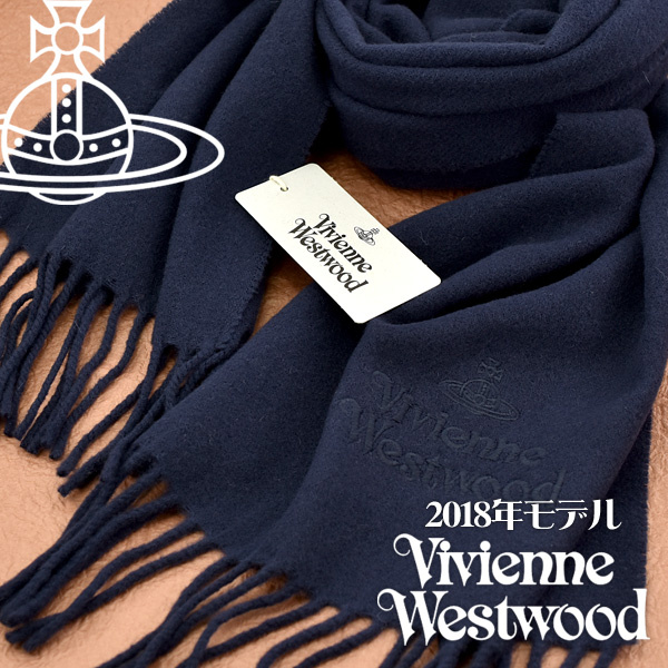 Vivienne Westwood Logo 羊毛頸巾[3色]