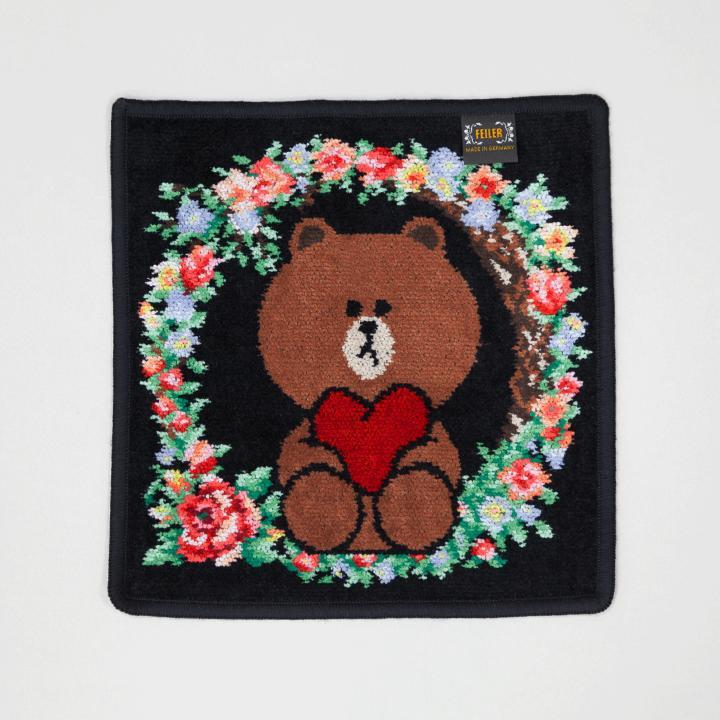 日本LINE FRIENDS x FEILER 熊大毛巾