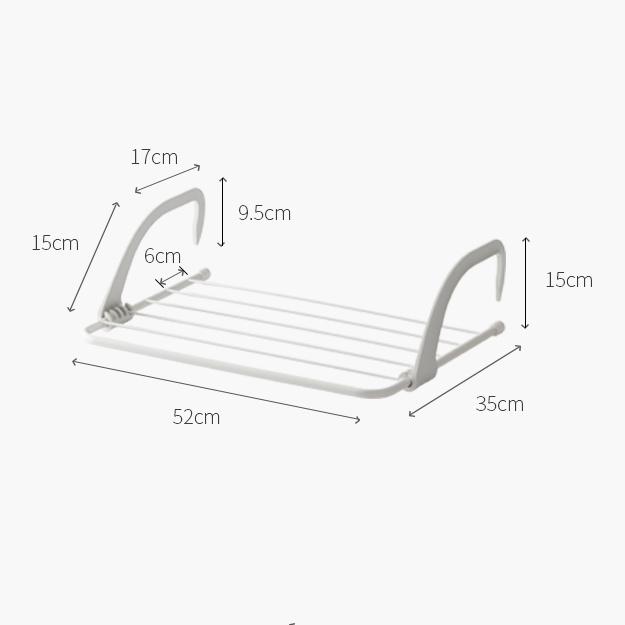 折疊式免安裝晾衣曬衣架