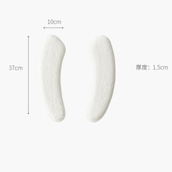 加厚毛绒可水洗廁板墊 [2對]