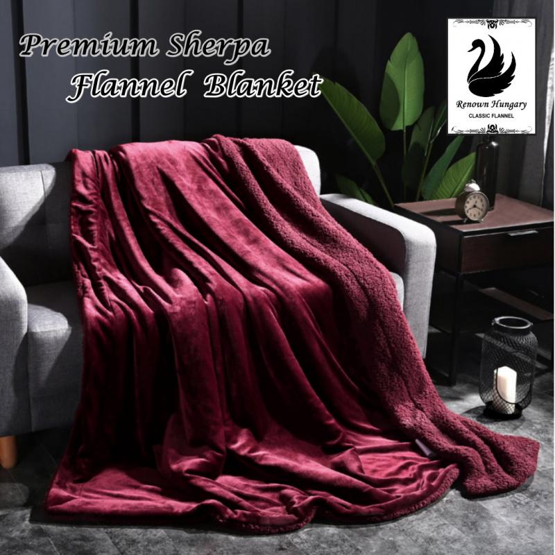Ultimate 仿羊絨雙層特厚保暖毯 [多種顏色] [2尺寸]