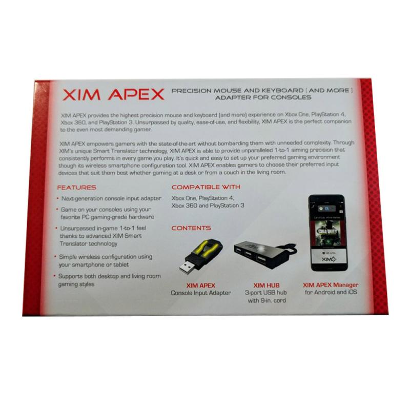 XIM Apex 滑鼠 鍵盤 轉換器 鍵鼠轉化器 For PS3/PS4 XBOX ONE/S/X/360