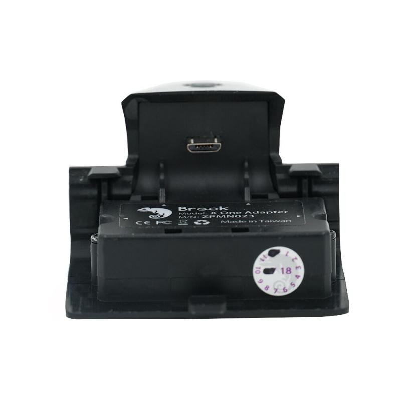 Brook X One無線轉換器 XBox One/Elite 1控制器手制轉PS4/Nintendo Switch/Xbox One/PC/Android/iOS使用 可作手制充電池 (黑色)