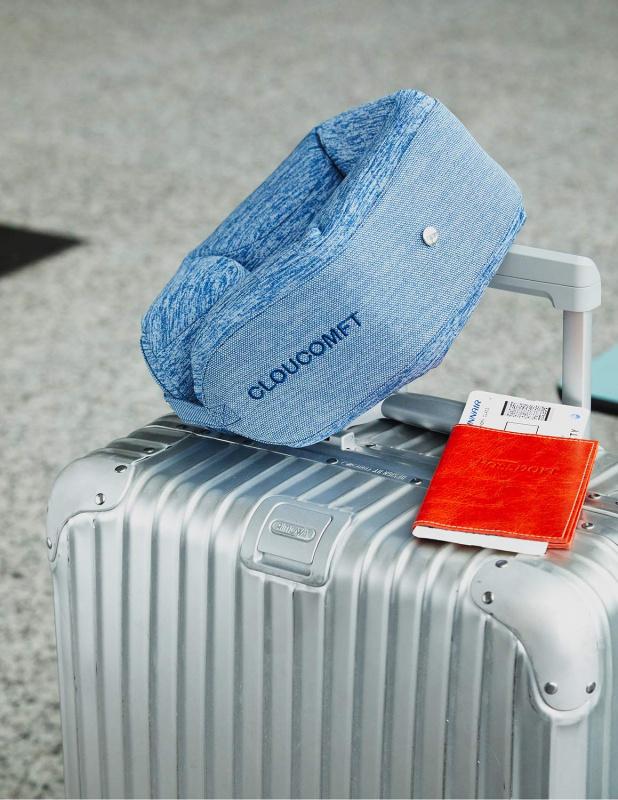 Cloucomft 記憶棉U型護頸枕