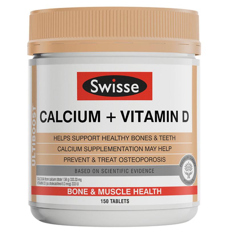 Swisse Ultiboost 鈣 + 維生素 D 片 [150粒]