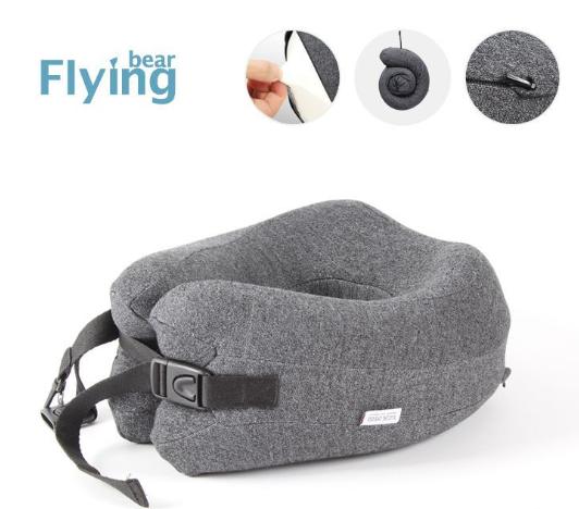 Flyingbear 旅行用記憶頸枕 [4色]