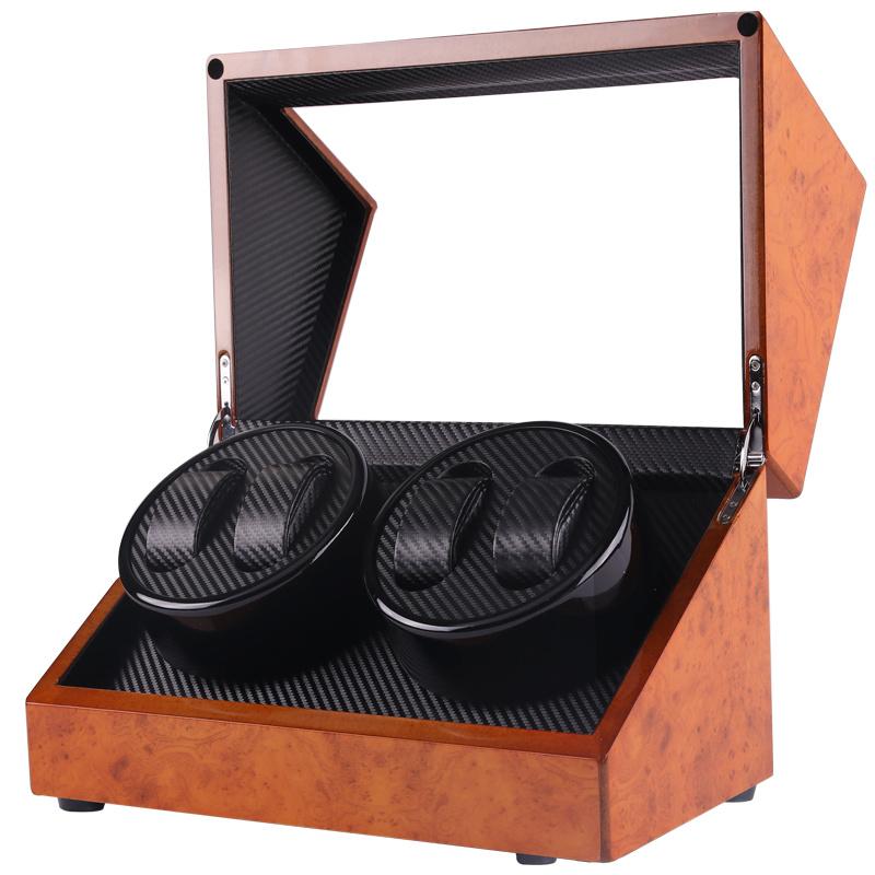 HARROW - (胡桃木)4表自動上鏈手錶盒