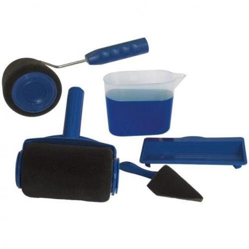 多功能滾筒式油漆刷(5件組)