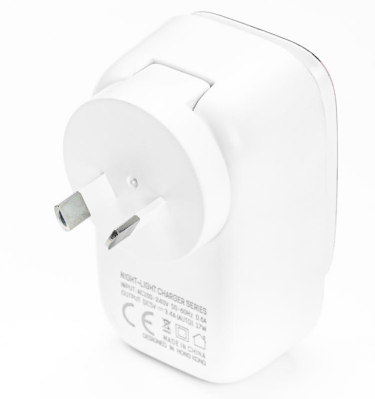 Powerman 原裝行貨2.4A LED旅行商用家用快速充電火牛