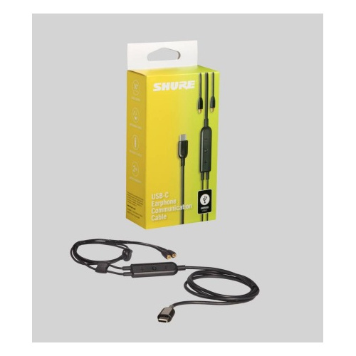 Shure RMCE-USB MMC to USB-C 通話線控耳機升級線