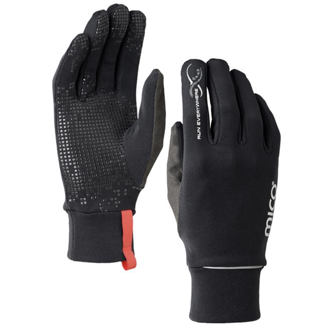 MICO Stretch Gloves Nero 意大利製保暖手套 [5尺寸]