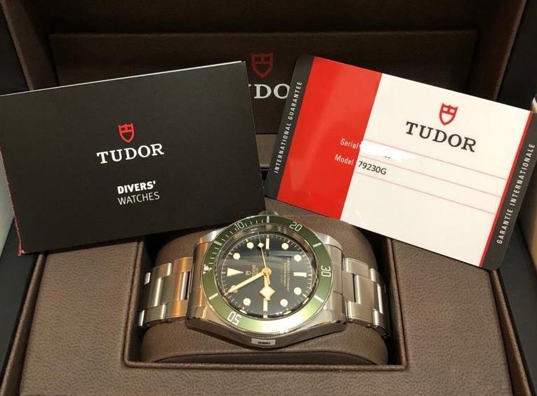 Tudor Heritage Green Black Bay Harrods Special Edition
