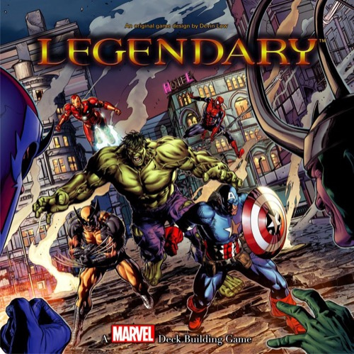 傳奇: Marvel英雄牌庫構築遊戲 - Legendary: A Marvel Deck Building Game