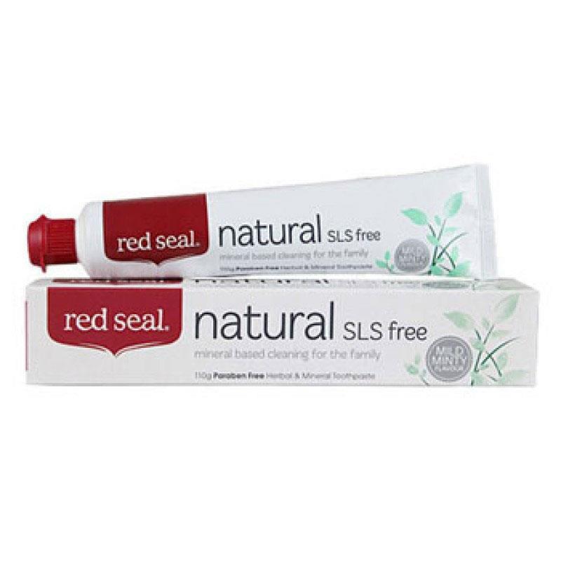 Red Seal 紅印天然牙膏 2支裝 (6種香味) (平行進口)