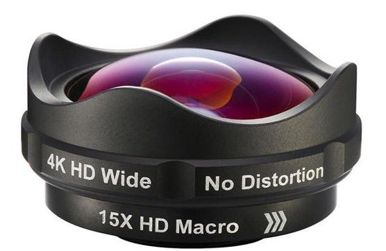 AIKE 二合一高清廣角微距手機鏡頭
