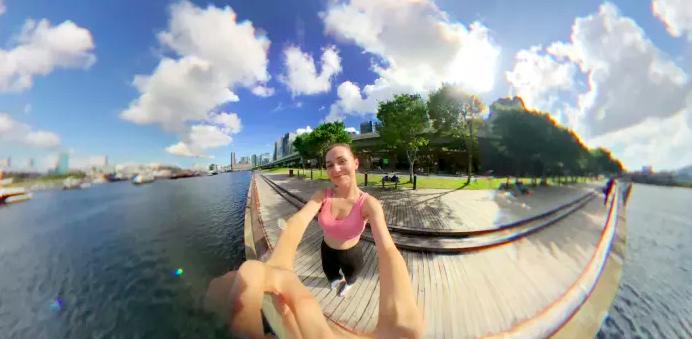 Fusion Lens免用電360度全景手機鏡頭