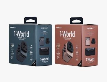 MOMAX 1-World (UA6UK) 旅行插座 Type-C (PD) + 3USB-A 旅行插座
