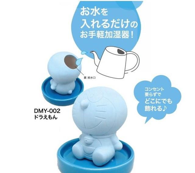 日本多啦A夢免用電素焼加濕器