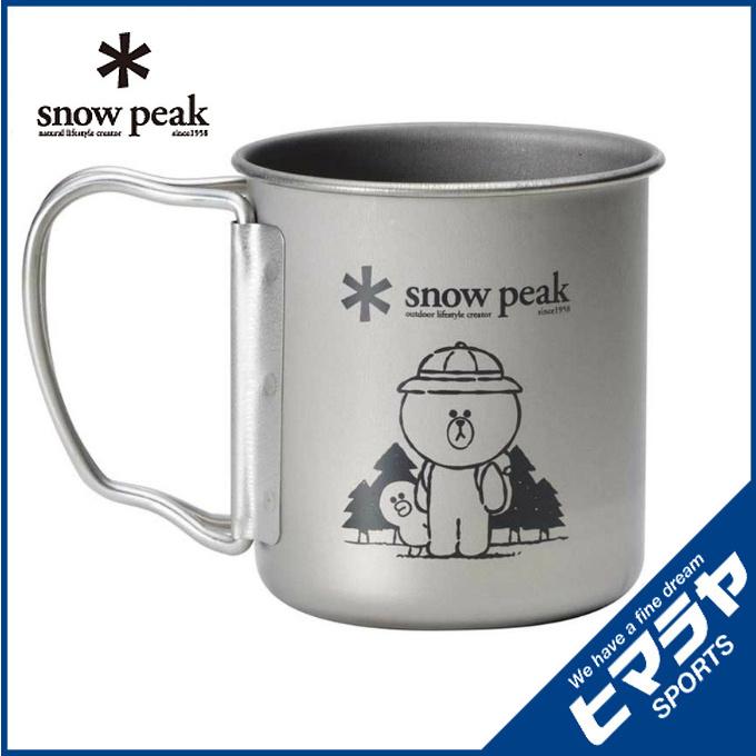 日本snow peak x LINE FRIENDS 杯