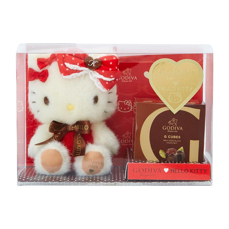 日本SANRIO Hello Kitty x GODIVA 禮盒公仔/鎖匙扣2019 [4款]