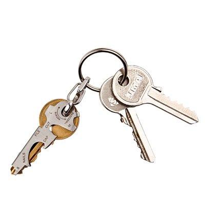英國True Utility KeyTool 8合1迷你鑰匙圈工具組 預訂