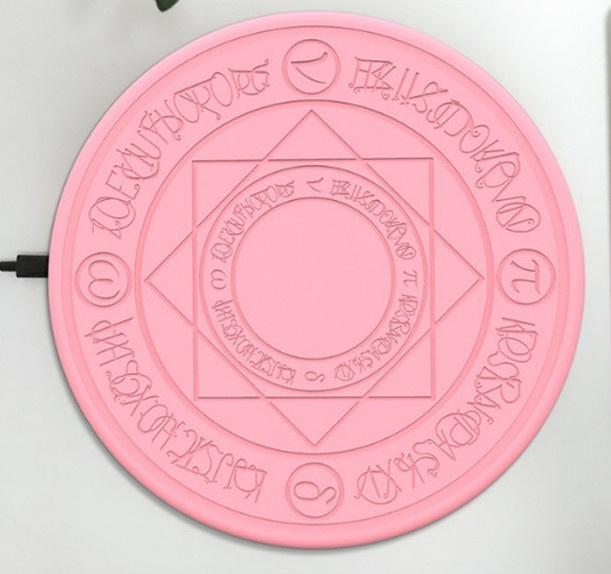 魔法陣QI無線充電器 (快充音效版) [2色]