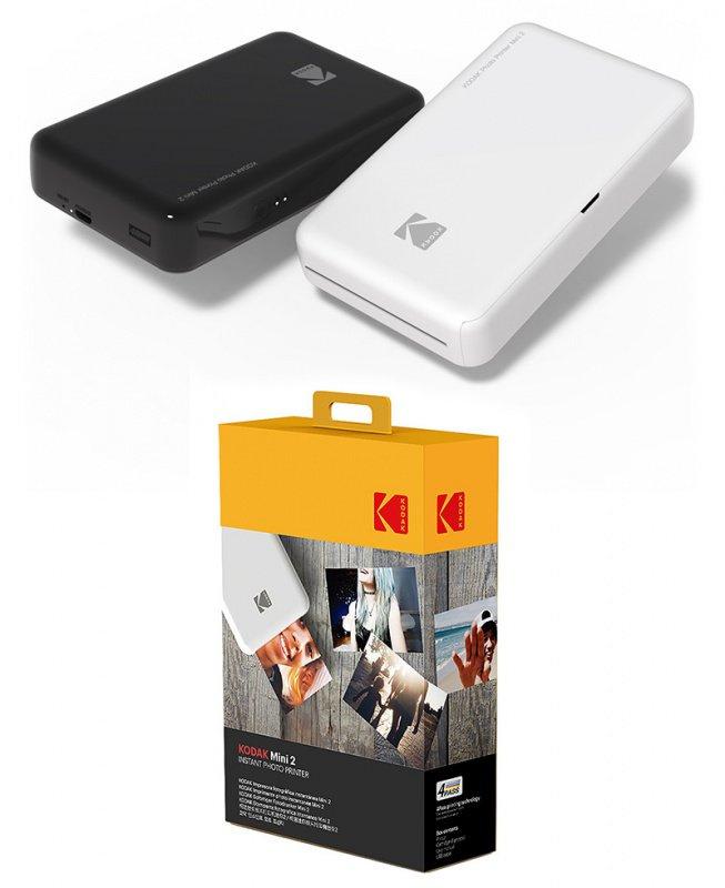柯達 (Kodak Mini 2 PM-220) 迷你無線相片打印機 (香港行貨)