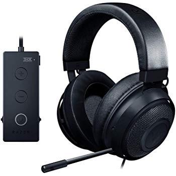 Razer Kraken Gaming Headset Tournament Edition with USB Audio Controller