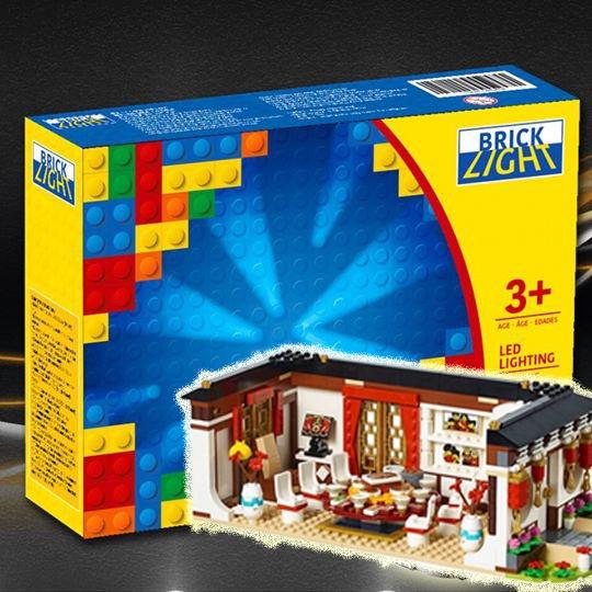 LEGO Brick Light 80101 Chinese New Year's Eve Dinner 專用燈組 (不包括本體Lego)