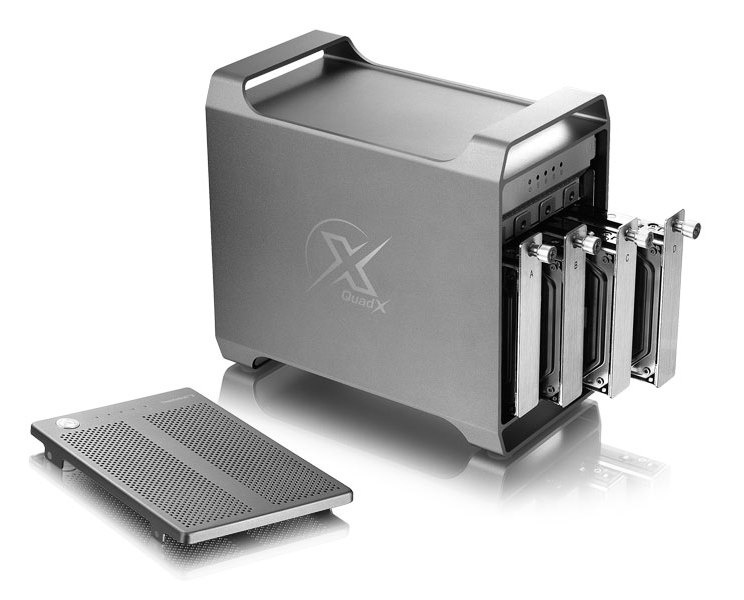 AkiTio Thunder3 Quad X 4Bay Thunderbolt 3 Enclosure