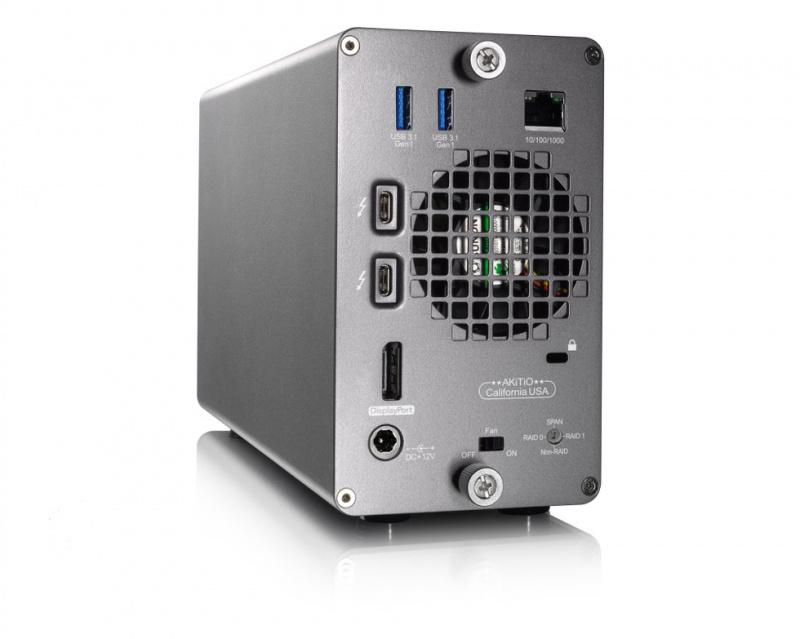 AKiTiO Thunder3 RAID Statoin 2Bay Enclosure