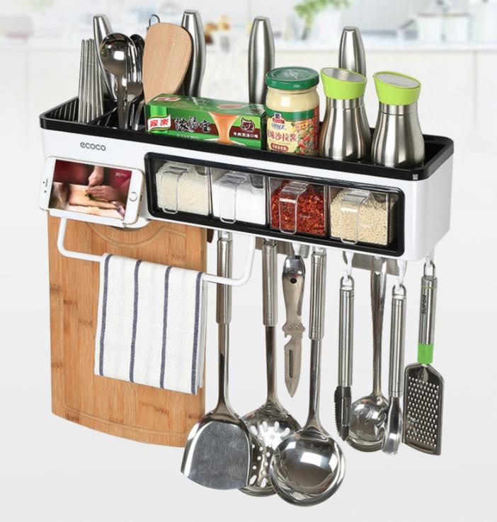 7合1 廚房置物收納架