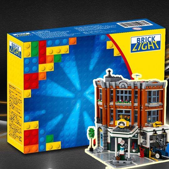 LEGO Brick Light 10264 corner garage 專用燈組 (不包括本體Lego)