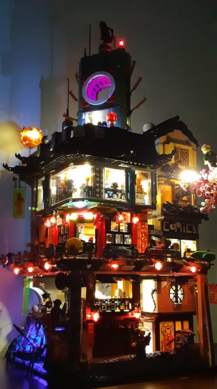 LEGO Brick Light 70620 NINJAGO® City 專用燈組 (不包括本體Lego)