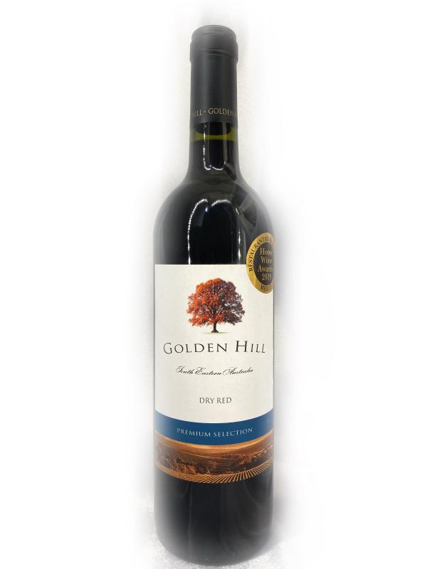 正貨在此、提防假冒、雷射奬狀標貼為記號 Golden Hill Premium Selection 2012 700ml (貼心服務,免運費,一支照送貨)